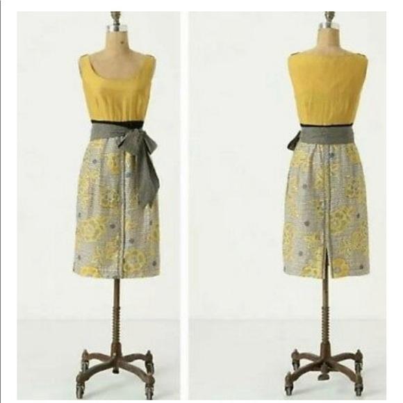 Anthropologie Dresses & Skirts - Anthro Edme & Esyllte Blooming Goldenrod Dress